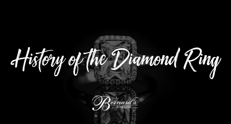 From Ownership to Love – the History of the Diamond Ring